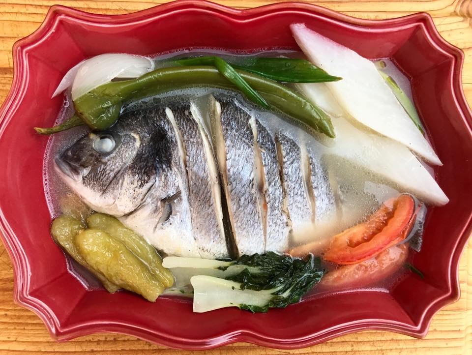 how to make fish sinigang